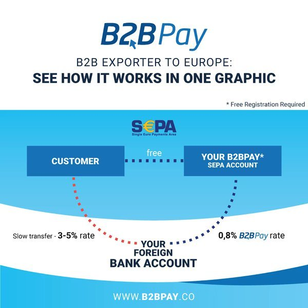 B2B Pay infographic