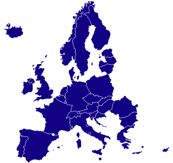 Map of SEPA payment zone countries